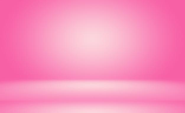 Streszczenie Pusty Gładki Jasnoróżowy Pokój Studio Tło, Użyj Jako Montaż Do Wyświetlania Produktu, Baner, Szablon. Darmowe Zdjęcia