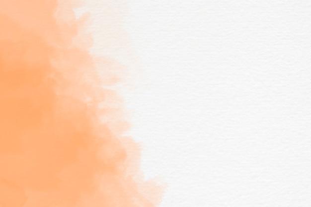 Streszczenie rozchlapać akwarela na białym tle z lato