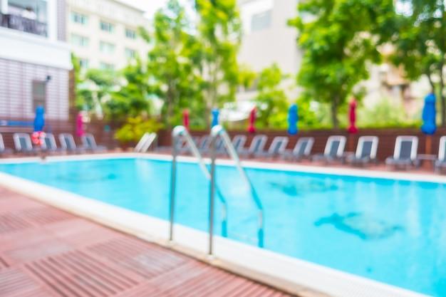 Streszczenie rozmycie basen