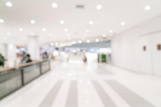 Streszczenie rozmycie centrum handlowego i sklepu