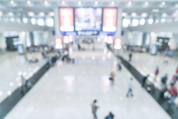 Streszczenie rozmycie i niewyraźne lotnisko