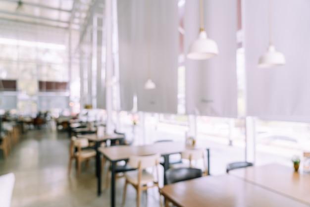 Streszczenie rozmycie kawiarni restauracja na tle