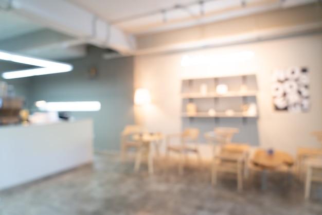 Streszczenie rozmycie kawiarnia kawiarnia na tle