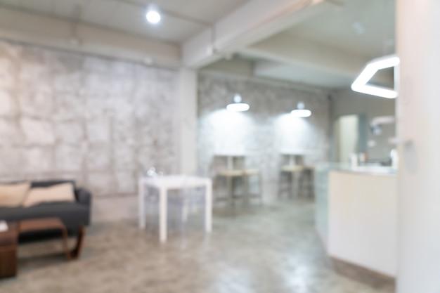 Streszczenie rozmycie kawiarnia kawiarnia restauracja na tle