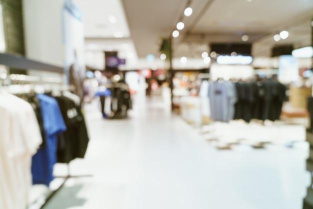 Streszczenie rozmycie luksusowe centrum handlowe i sklep