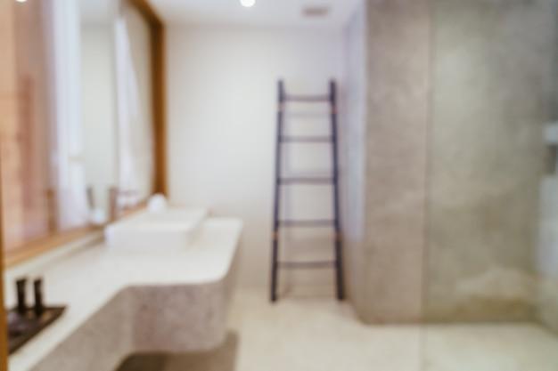 Streszczenie rozmycie luksusowej łazienki