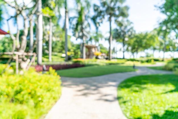 Streszczenie rozmycie luksusowy hotel resort na tle - koncepcja wakacje i wakacje