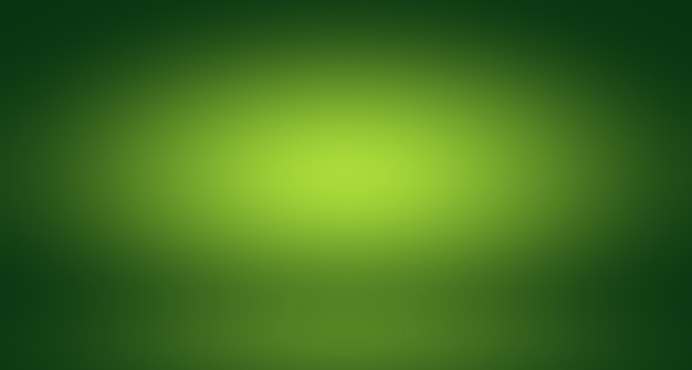 Streszczenie rozmycie puste zielone studio gradientowe dobrze wykorzystać jako tłoszablon strony internetowejramaraport biznesowy