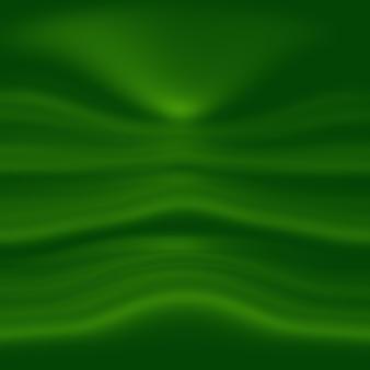 Streszczenie rozmycie pusty zielony gradient studio dobrze wykorzystać jako tło, szablon strony internetowej, ramkę, biznes