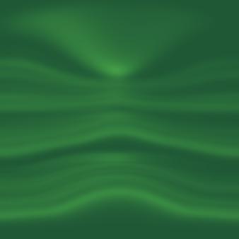 Streszczenie rozmycie pusty zielony gradient studio dobrze wykorzystać jako tło, szablon strony internetowej, ramkę, raport biznesowy.
