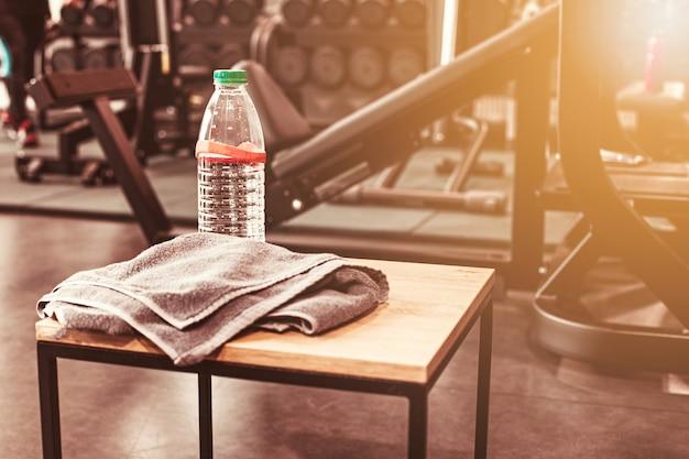Streszczenie rozmycie siłowni fitness