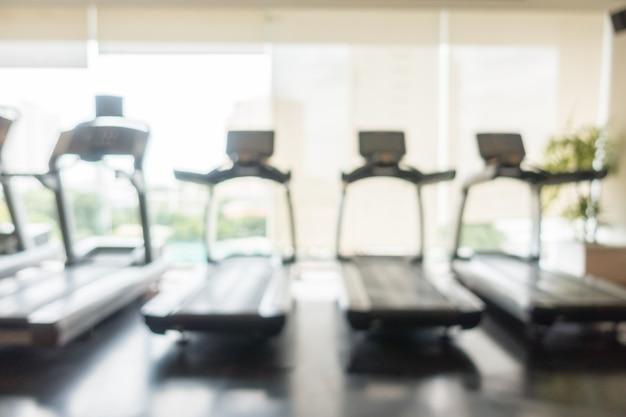 Streszczenie rozmycie siłownia i fitness