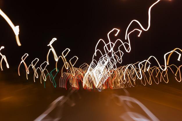 Streszczenie rozmyte światło