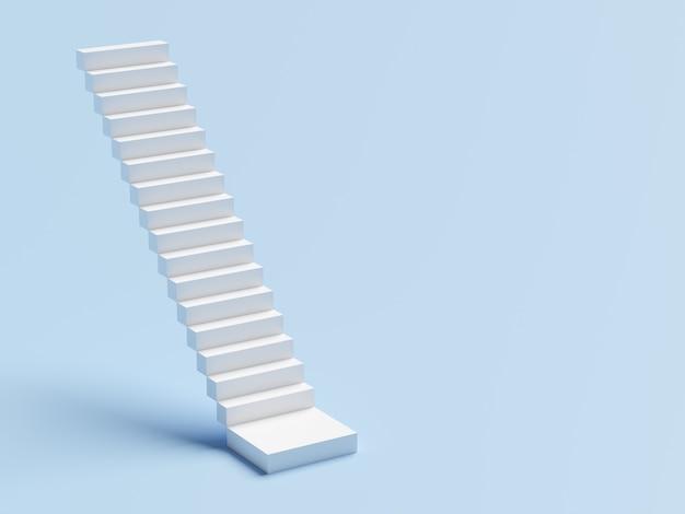 Streszczenie schody. schody ze stopniami, koncepcja biznesowa