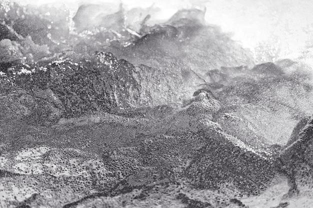 Streszczenie srebrny wyboisty teksturowanej