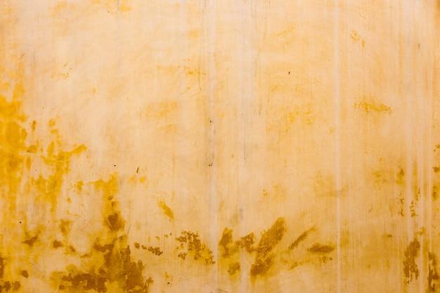 Streszczenie stary kolor żółty cementu