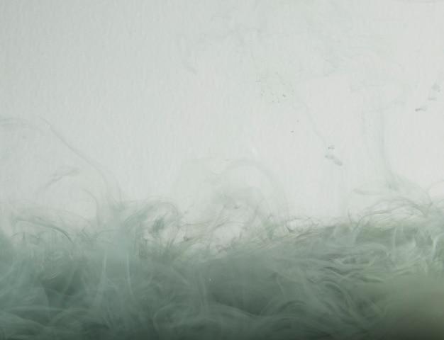 Streszczenie szare chmury mgły