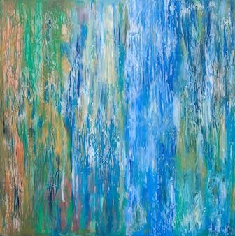 Streszczenie sztuka tło farb olejnych