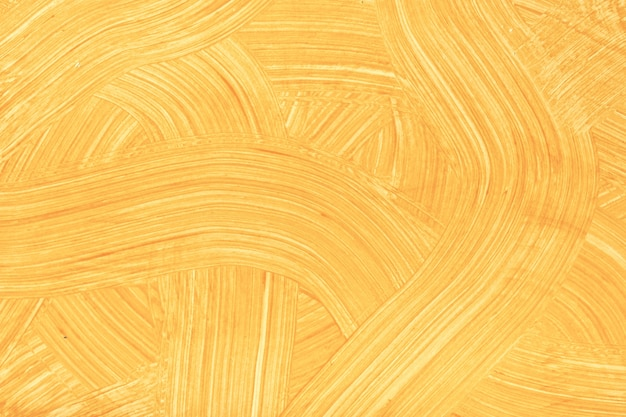 Streszczenie sztuka tło jasnopomarańczowe kolory. akwarela na płótnie ze złotymi pociągnięciami i pluskiem