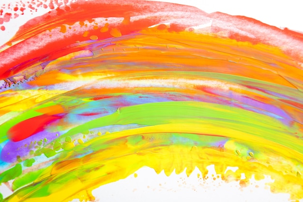 Streszczenie tęcza akwarela kolory tekstury tła