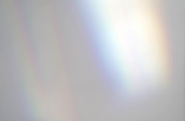 Streszczenie tęczowe promienie efektu nakładki światła cienia od światła słonecznego