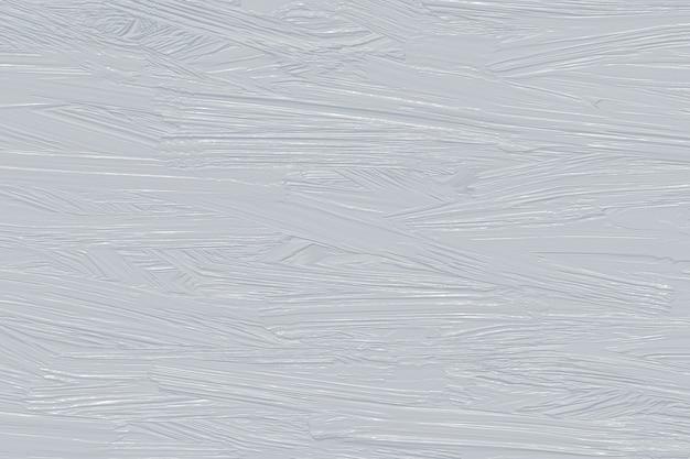 Streszczenie tekstura jasnoszarej farby olejnej, malowany wzór, projektowanie ścian, karta szablonu, płótno, tło, rozmazana akwarela