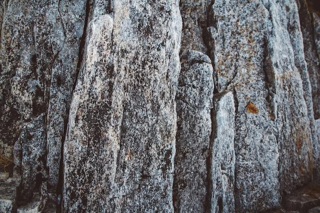 Streszczenie tekstura kamień z fal erodują, tło natura. widok z góry. skopiuj miejsce. może służyć jako baner.
