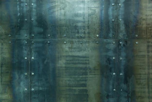 Streszczenie tekstura metalowe tło na ścianie. tekstura tła w stylu vintage dla projektu i sztuki może być używana jako okładka broszur
