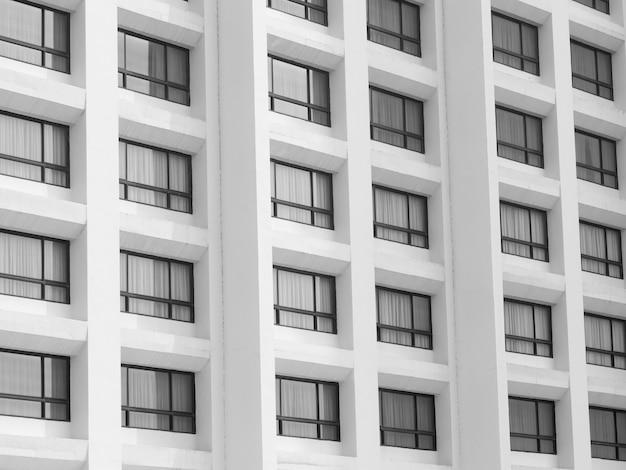 Streszczenie tekstura tło architektury budynku okna