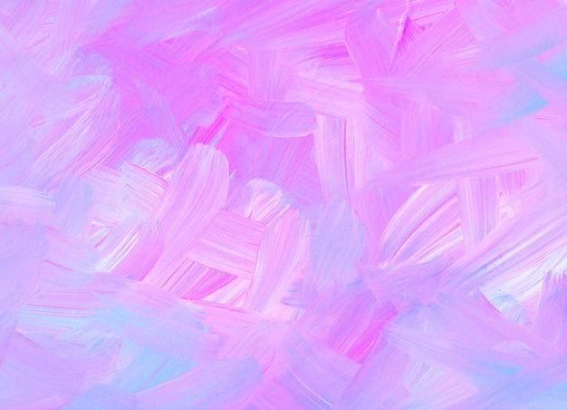 Streszczenie tekstura tło pastelowy różowy, niebieski, biały. miękkie pociągnięcia pędzlem na papierze. kolorowe światło artystyczne.