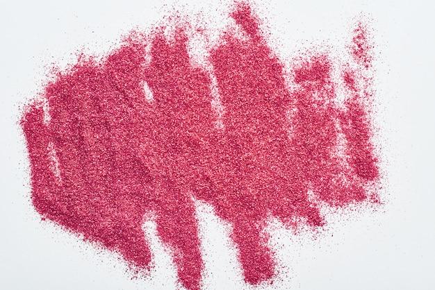 Streszczenie tekstura tło. tekstura czerwony brokat