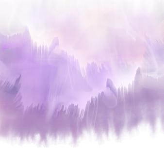 Streszczenie tle z fioletowym akwarele tekstury