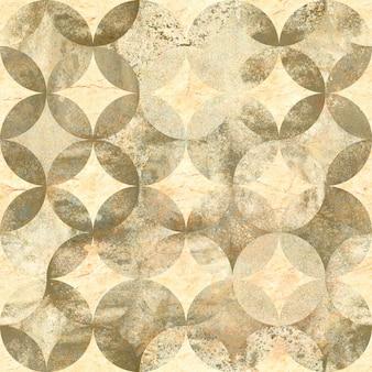 Streszczenie tło akwarela grunge z nakładającymi się okręgami na starym papierze