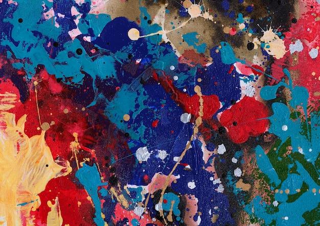 Streszczenie tło akwarela malarstwo z teksturą.
