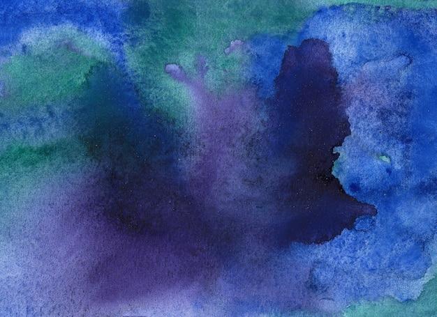 Streszczenie tło akwarela pędzla. ręcznie malowane ilustracji.