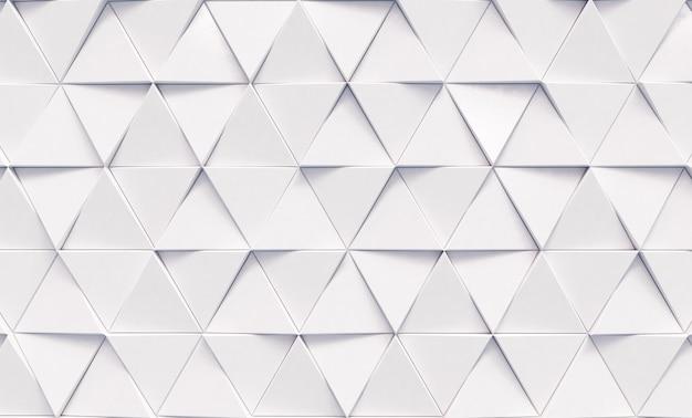 Streszczenie tło białe trójkąty