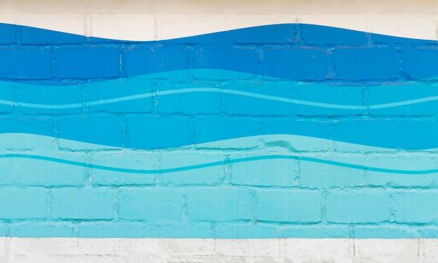 Streszczenie tło fale oceanu