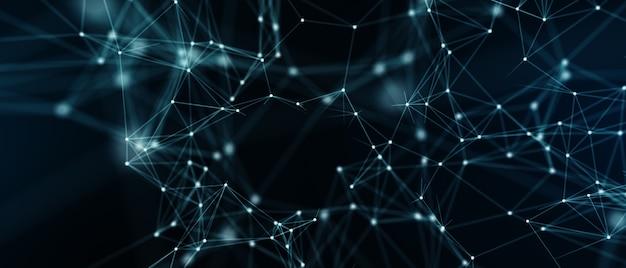 Streszczenie tło futurystyczny. koncepcja technologii cyfrowej.