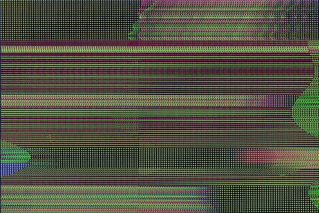 Streszczenie tło glitch, koncepcja błędu glitch.