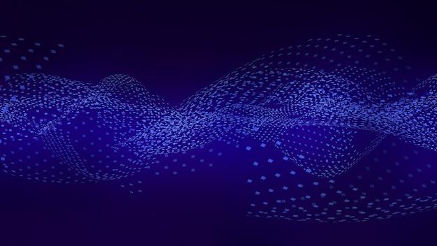Streszczenie tło ilustracja ruch przetwarzania informacjiprzetwarzanie informacjifalowy ruch danych