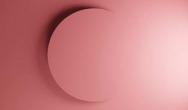 Streszczenie tło koło. kompozycja kształtów gradientu.