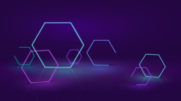 Streszczenie tło neon lub led