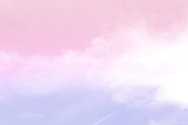 Streszczenie tło nieba w słodkim kolorze.