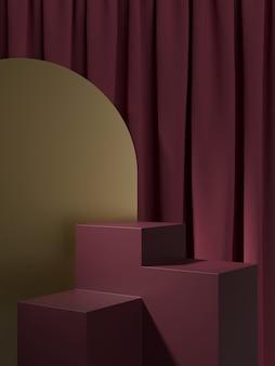 Streszczenie tło, scena. renderowanie 3d