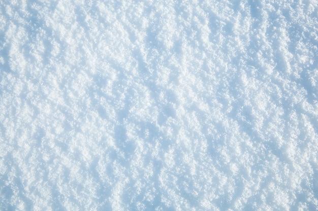 Streszczenie tło śniegu