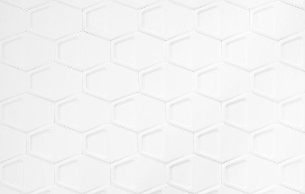 Streszczenie tło wzór wielokątów na białym tle