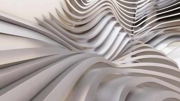 Streszczenie tło zakrzywione kształty