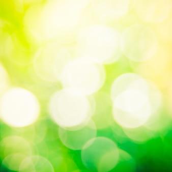 Streszczenie tło zielony bokeh