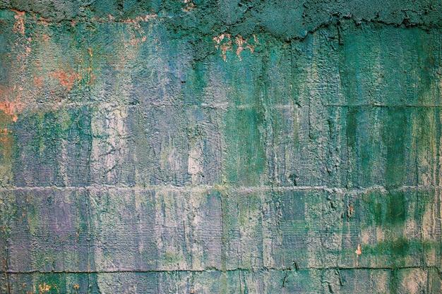 Streszczenie wieku sztuka tło niebieski jasny brązowy kolor projekt brudny zielony materiał grunge stary wzór chropowata tekstura powierzchni teksturowane rocznika ściana żółty