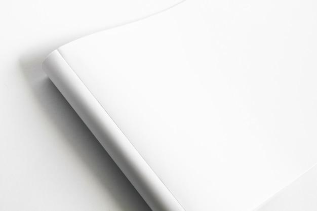 Streszczenie zdjęcie makiety białego papieru